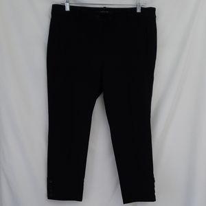 Ann Taylor Petite Black Stretch Pants